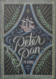 Upcoming Dana Tanamachi Peter Pan cover for Penguin.
