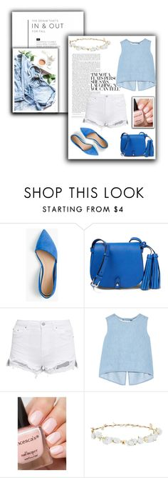 """""""Blue day"""" by riborn ❤ liked on Polyvore featuring J.Crew, Steve J & Yoni P and Robert Rose"""