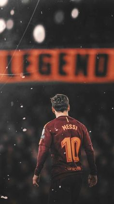 Leo Messi is a player who has a great character on and off the field, he has inspired me to try and get better and keep doing what I love.