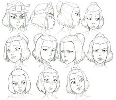 Avatar The Last Airbender Discover Suki Expressions Study by Nylak on DeviantArt Some people I know be haten on Suki and dont respect the fact that her and Sokka are happy together so they need to just butt out. I absolutely love her :) Character Concept, Character Art, Concept Art, Drawing Expressions, Facial Expressions, Suki Avatar, Avatar Aang, Suki And Sokka, Drawing Sketches