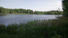 A view of the Lammaslampi pond in Hämeenkylä/Pähkinärinne, Vantaa