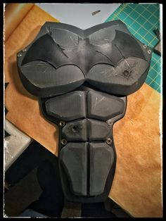 Finished weathering the abs. Added another bullet hole as per the in-game… …