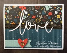 Hello!   Thanks for visiting my blog! :)  I am excited to share this very simple but beautiful card with you today!  I used the gorgeous ...