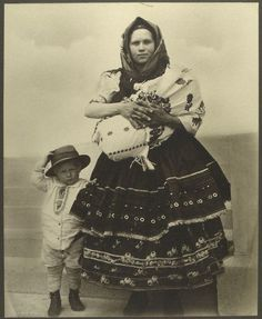 """Slovak Woman .&. Children 