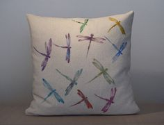 Hey, I found this really awesome Etsy listing at https://www.etsy.com/listing/178700526/hand-painted-decorative-pillow-with - Decorative Throw Pillows Unique Designer Fashion Home Decor Beautiful Covering Patterns Unique Colorful