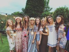MUST READ! This gorgeous boho, Coachella inspired hen party celebration is…