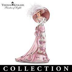 Thomas Kinkade Lady Figurines | visit bradfordexchange ca