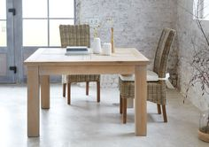 table extensible carree chene naturel sable toronto 125x125 mobilier