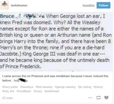 """A collection of """"Harry Potter"""" fan theories posited by Tumblr users."""