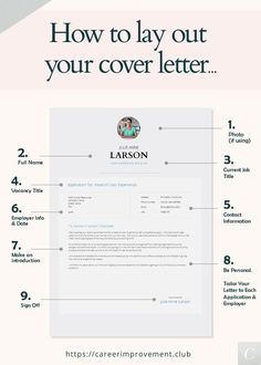 How TO Lay Out Your Cover Letter - Portfolio - When applying for jobs don't neglect a well designed and correct Cover Letter. Job Cover Letter, Writing A Cover Letter, Cover Letter For Resume, Cover Letter Design, Template For Cover Letter, How To Cover Letter, Resume Cover Letter Examples, Resume Writing Tips, Resume Tips