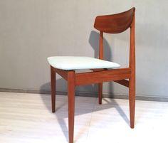 Vintage Stühle - Stuhl Teak Mint /Türkis v. CASALA *Mid Century No1 - ein Designerstück von Mid-Century-Frankfurt bei DaWanda