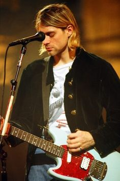 "I just don't like to get intimate. I don't want anyone to know what I feel and what I think, and if they can't get some kind of an idea of what sort of person I am through my music, then that's too bad."" -Kurt Cobain"
