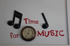 """time for music"" classroom decor idea - picture only Piano Lessons, Music Lessons, Singing Lessons, Singing Tips, Learn Singing, Preschool Music, Teaching Music, Preschool Bulletin, Music Bulletin Boards"