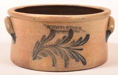 Cowden & Wilcox, Harrisburg, PA Stoneware Pottery : Lot 460
