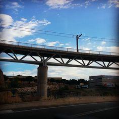 Manresa < Castelldefels por la C-55 #Barcelona #Castelldels #Conduciendo #Driving #Manresa #Mar #Martorell #Mediterraneo #Monasterio # Monastír # Montaña # Monteserrat #Mountains #Muntanya #Olesa #Panoramica # Road # Route #Ruta #Sea #Sideview #Sunset
