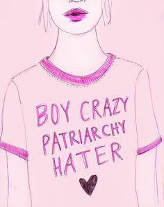Boy Crazy Patriarchy Hater <3
