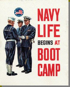 US Navy boot camp