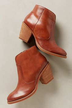 Saddle Leather Booties