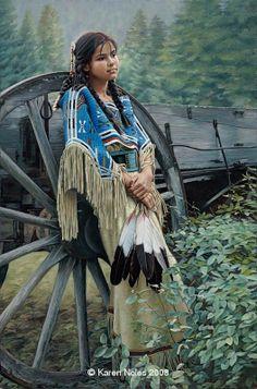 Native American Paintings by Karen Noles