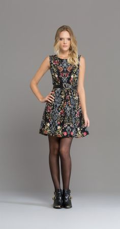 Vestido Terrário | Novidades | Antix Store- Preto - P