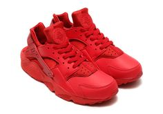 Related image Red Sneakers, Sneakers Fashion, Navy Shoes, Nike Air Huarache,  Nike e7ac1657f830