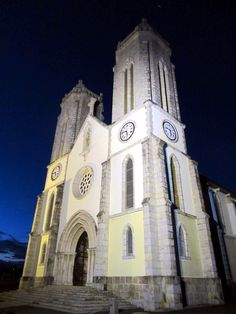 The Catholic Cathedral of St Joseph in Noumea, New Caledonia, South Pacific, was built by convict labor. St Joseph, South Pacific, Notre Dame, Catholic, Cathedral, Building, Travel, Saint Joseph, Viajes