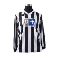 Zidane #21 Juventus Home Long Sleeve 1998-1999