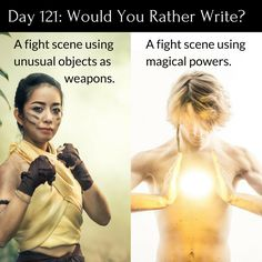 "Day 121 of 365 Days of Writing Prompts: A fight scene using unusual objects as weapons or a fight scene using magical powers. Erin: ""The babies are so calm today,"" Mary pointed out looking into one…"