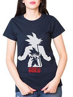 Over Goku Camiseta de mujer Goku Dragon Master Son Ball Vegeta Turtle Roshi Db, Farbe2:Navy;Größe2:XS #camiseta #realidadaumentada #ideas #regalo