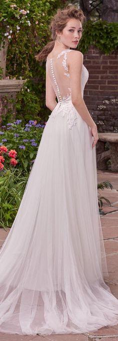 Wedding Dress by Rebecca Ingram - GINA | Less than $1,000 | #rebeccaingram #rebeccabride