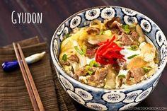 Gyudon Recipe (Beef Bowl) 牛丼