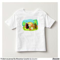 T-shirt en jersey fin Monsieur Loustic