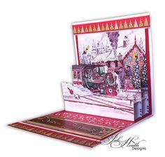 Decoupage: La Pashe ChristmasTrinitage by Jak Heath
