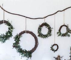 merry & bright | gingerbread sorghum cake + diy wreaths & muslin wrapping (via Bloglovin.com )