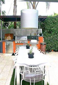 Industrial Home Design outdoor living - Google Search
