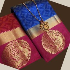 Hand Block Printed Cotton Saree With Blouse by Veenapani - Online shopping for Sarees on MyShopPrime - Kota Silk Saree, Tussar Silk Saree, Lehenga Saree, Art Silk Sarees, Cotton Saree, Bollywood Saree, Royal Blue Color, Pink Color, Pink Blue