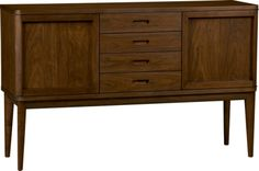 Oslo Sideboard  | Crate and Barrel
