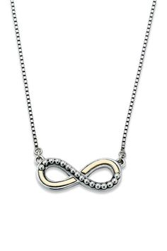 Jewelry & Watches | Nordstrom Rack Infinity Pendant, Infinity Necklace, Timeless Fashion, Sterling Silver Jewelry, 18k Gold, Jewelry Watches, Jewelry Design, Lobster Clasp