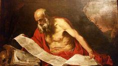San Girolamo in lettura. 1652. Galleria Nazionale di Palazzo Barberini