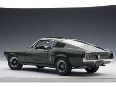 1968 Ford Mustang GT - Bullitt #shelbyvintagecars #mustangvintagecars