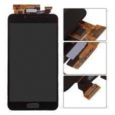 Ansamblu Display Ecran Afisaj Lcd Samsung Galaxy C5 Dark Gray