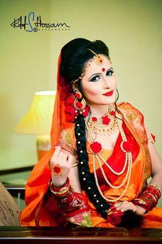 Bangladeshi Bride #gaye Holud | U2665Bangladeshi Bride U2665 | Pinterest | Bengali Bride And Brides