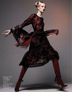 Daria Strokous | Photography by Daniel Jackson | For Vogue Magazine China |