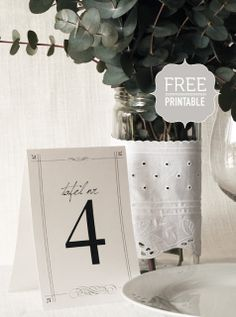 Carteles imprimibles para tu boda  y tus fiestas
