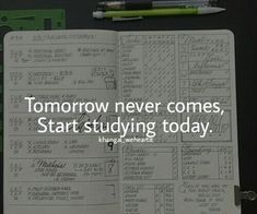 Start studying today discovered by Anna on We Heart It motivation, study, and college Bild Exam Motivation, Study Motivation Quotes, Study Quotes, Student Motivation, Fitness Motivation, College Motivation, Motivacional Quotes, Hard Quotes, Life Quotes