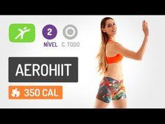Aula de Ginástica - Derreta Gorduras com 20 min de AeroHiiT #7 - YouTube