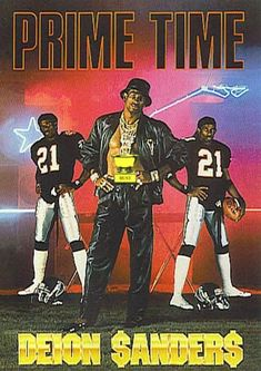 """From """"Prime Time"""" Sanders Air Max 2009, Football Art, Football Players, Falcons Football, Black Cartoon, Sport Icon, Black Panther Marvel, Prime Time, Sports Stars"""