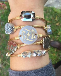 Gold & silver arm candy