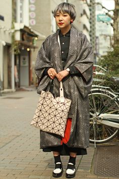 Japan Fashion Week Fall 2016 street style