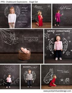 Chalkboard Expressions: Angels